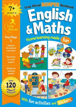 Leap Ahead Bumper Workbook: 7+ Years English