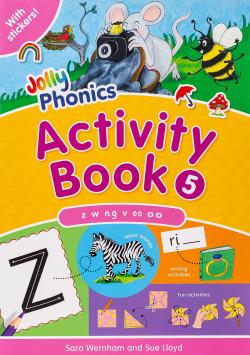 Jolly phonics 5 activity book