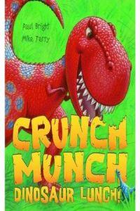 (bright)/crunch mucnh ninosaur lunch.(a&c black)