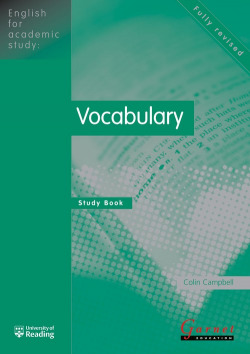 Eng.academic study: vocabulary