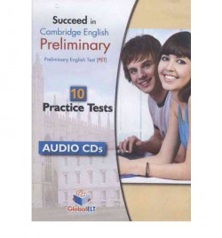 SUCCEED CAMBRIDGE ENGLISH PET 10 PRACTICE TEST AUDIO CD'S