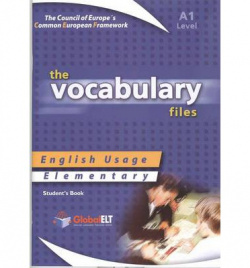 ENGLISH USAGE VOCABULARY FILES.(STUDENT´S).ELEMENTARY.(A1)