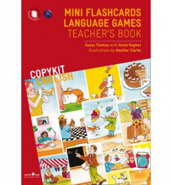 Mini flashcards language games teachers book