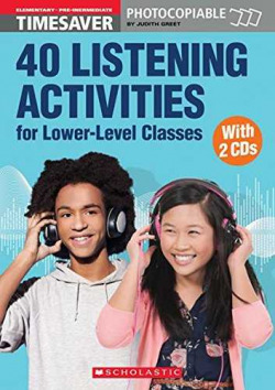 40 Listening activities for lower-level classes (+cd)