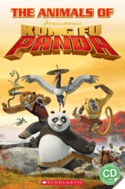 ANIMALS KUNG FU PANDA STARTER LEVEL (+CD) (POPCORN ELT)