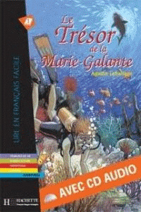 TRESOR DE LA MARIE-GALANTE (+CD).(LECTURE FACILE 1)