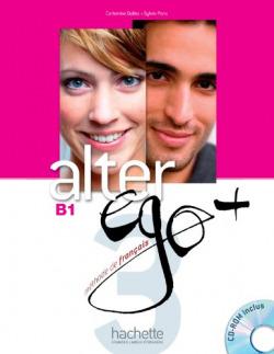 (13).ALTER EGO PLUS 3.(LIVRE +DVDROM) (B1)