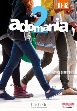 ADOMANIA 2 : LIVRE DE L'ELEVE +DVD