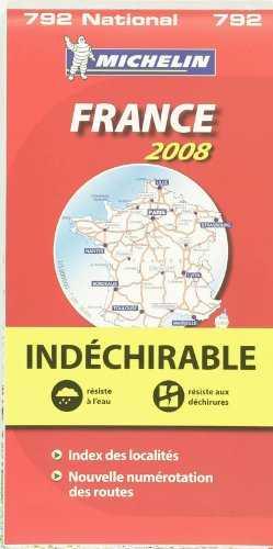 Mapa 792 francia