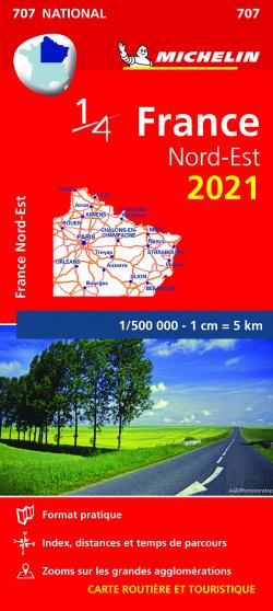 Mapa National Francia Nord-Est 2021