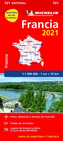 Mapa National Francia 2021