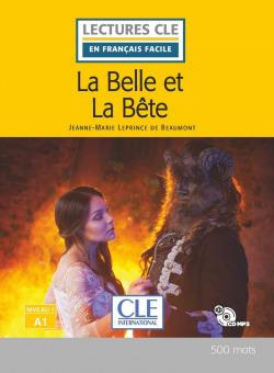 LA BELLE ET LA BÊTE - LIVRE - NIVEAU 1;A1 - LIVRE+CDAUDIO