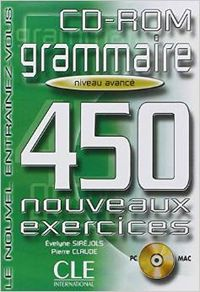 AVANCE/(CD-ROM).450 EXERCICES GRAMMAIRE.