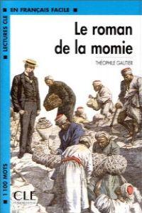 K7.ROMAN DE LA MOMIE.CASSETTE.(LECTURES FRANCAIS FACILE)