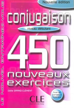450 EXERCICES CONJUGAISON.(DEBUTANT.LIVRE)