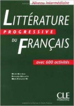 LIVRE.INTER/LITTERATURE PROGRESSIVE DU FRANCAIS.(+300 EX).IN
