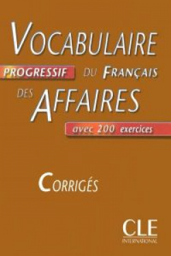 (INT.CORRG).DES AFFAIRES,VOCABULAIRE PROGRESSIF FRANCAIS