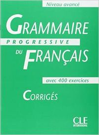CORRIG.AVANCE/GRAMMAIRE PROGRESSIVE FRANCAISE.CORRCLEFRA
