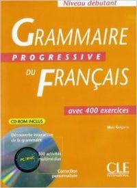 DEBUT/GRAMM.PROGRESSIVE FRANC.(+CD-ROM).(400 EXERCICES)