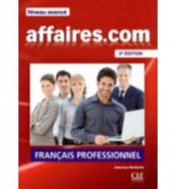 AFFAIRES.COM NIVEAU AVANCE (LIVRE+CD)