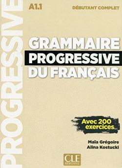 GRAMMAIRE PROGRESSIVE DU FRANÇAIS DEBUTANT (LIVRE+AUDIO CD)