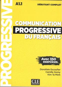 COMMUNICATION PROGRESSIVE DU FRANçAIS - NIVEAU DéBUTANT COMPLET - LIVRE + CD