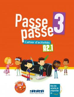 PASSE PASSE 3 - A2.1 CAHIER + CD
