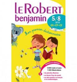 le robert benjamin.dictionnaire (frances monolingue)