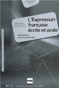 (03).L'EXPRESSION FRANC.ECRITE ORALE (CORRIGE).