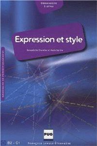 (10).EXPRESSION ET STYLE.(LIVRE) (PUG)
