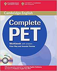 Complete pet workbook+key+audio cd