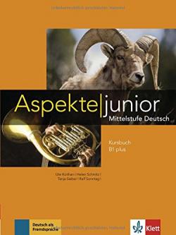 ASPEKTE JUNIOR B1+ ALUMNO DVD+CD