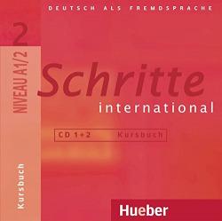 (AUDIO CD).SCHRITTE INTERNATIONAL 2.(2 AUDIO CDS ZUM KURSB)