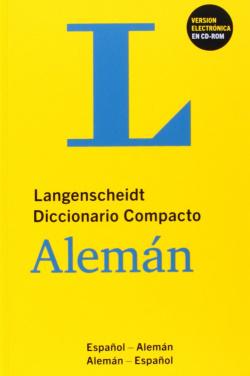 Diccionario compacto español/aleman +CD