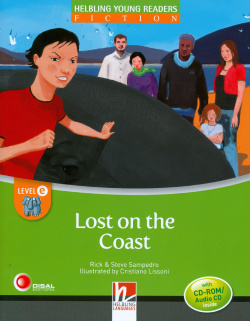 LOST ON THE COAST.(+CD).(READERS FICTION)