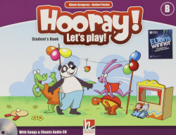 Hooray let play B Libro alumno +cd
