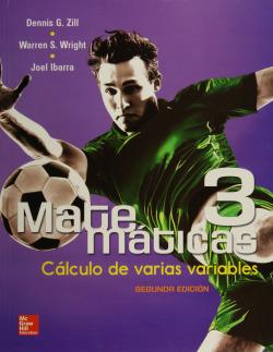 Matemáticas 3. Cálculo de varias variables