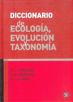 Diccionario ecologia evolucion y taxonomia