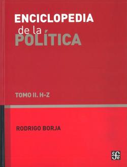 Enciclopedia de la política. Tomo II. H - Z