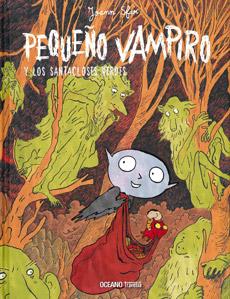 Pequeño vampiro y los Santacloses verdes