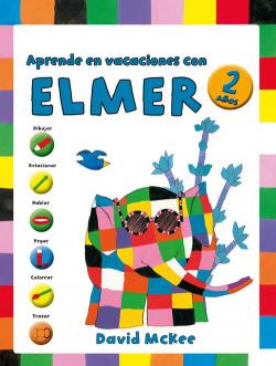 Aprende vacaciones con Elmer 2 años