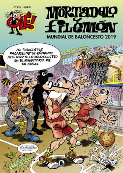 Mundial de baloncesto 2019 (Olé! Mortadelo 213)
