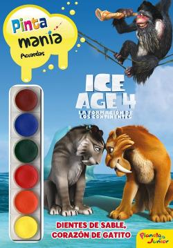 Ice Age 4. Pintamanía acuarelas