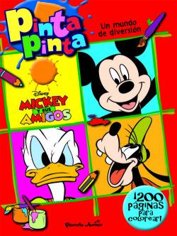 Mickey y sus amigos. Pinta pinta