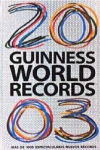 Libro Guinness de los récords, 2003