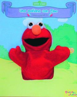 Libro marioneta Elmo