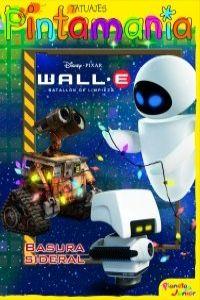 WALL-E. P. Tatuajes. Basura sideral