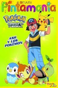 P. Tatuajes. Ash y los Pokémon