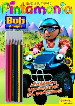 Bob y sus amigos. Pintamanía Lápices de colores