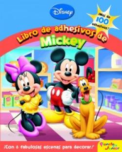 Mickey y sus amigos. Libro de adhesivos de Mickey
